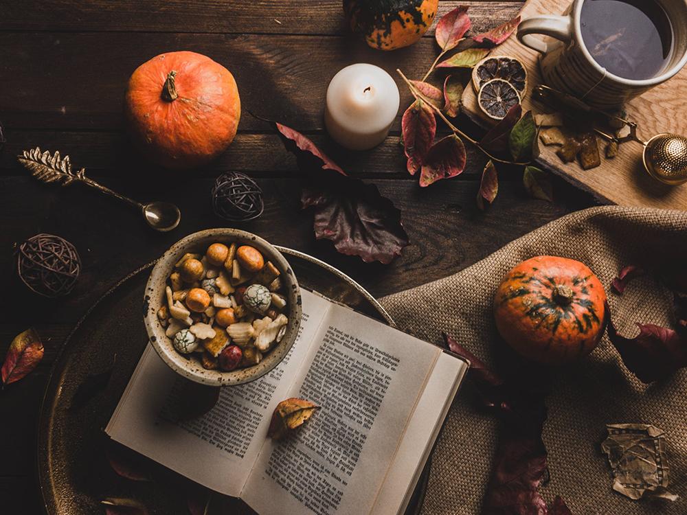 őszi asztaldíszek